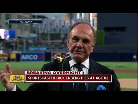 Sportscaster Dick Enberg dies at age 82
