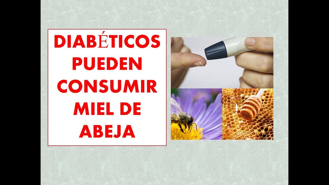 la miel es buena para diabetes