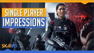 Star Wars: Battlefront II | Single Player Hands On Impression & Gameplay