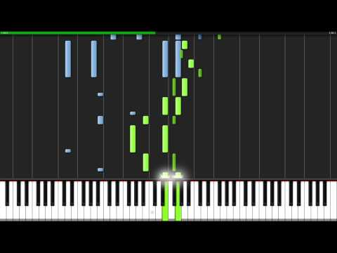 Habanera - Carmen [Piano Tutorial] (Synthesia)