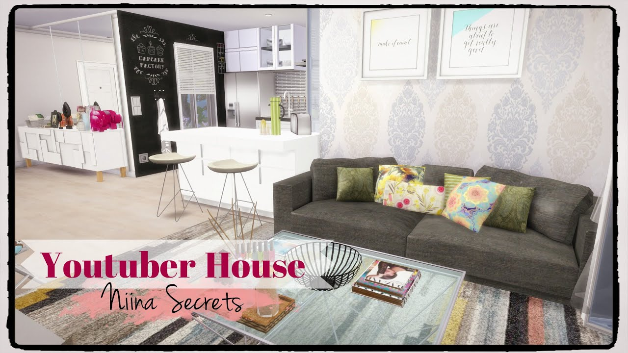 Sims 4 Youtuber House Niina Secrets Part 1 2 Youtube Interiors Inside Ideas Interiors design about Everything [magnanprojects.com]