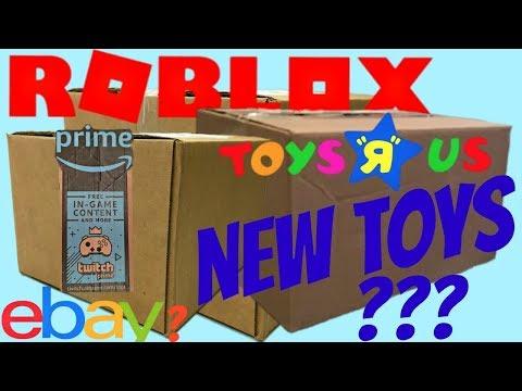 Roblox New Boxes!! Toys R Us, Amazon Prime, Ebay?