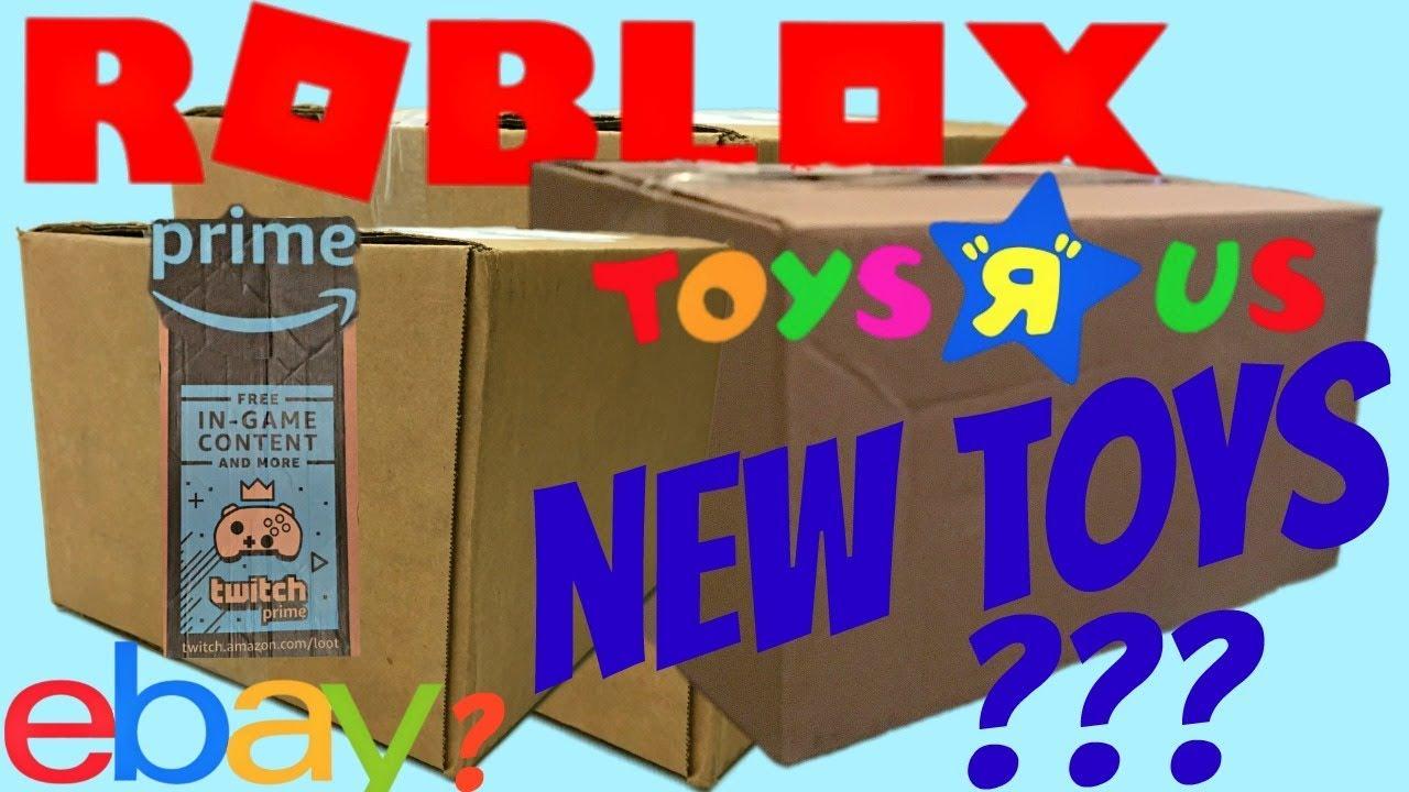 Roblox Toys - New Boxes!! Toys R Us, Amazon Prime, Ebay ...