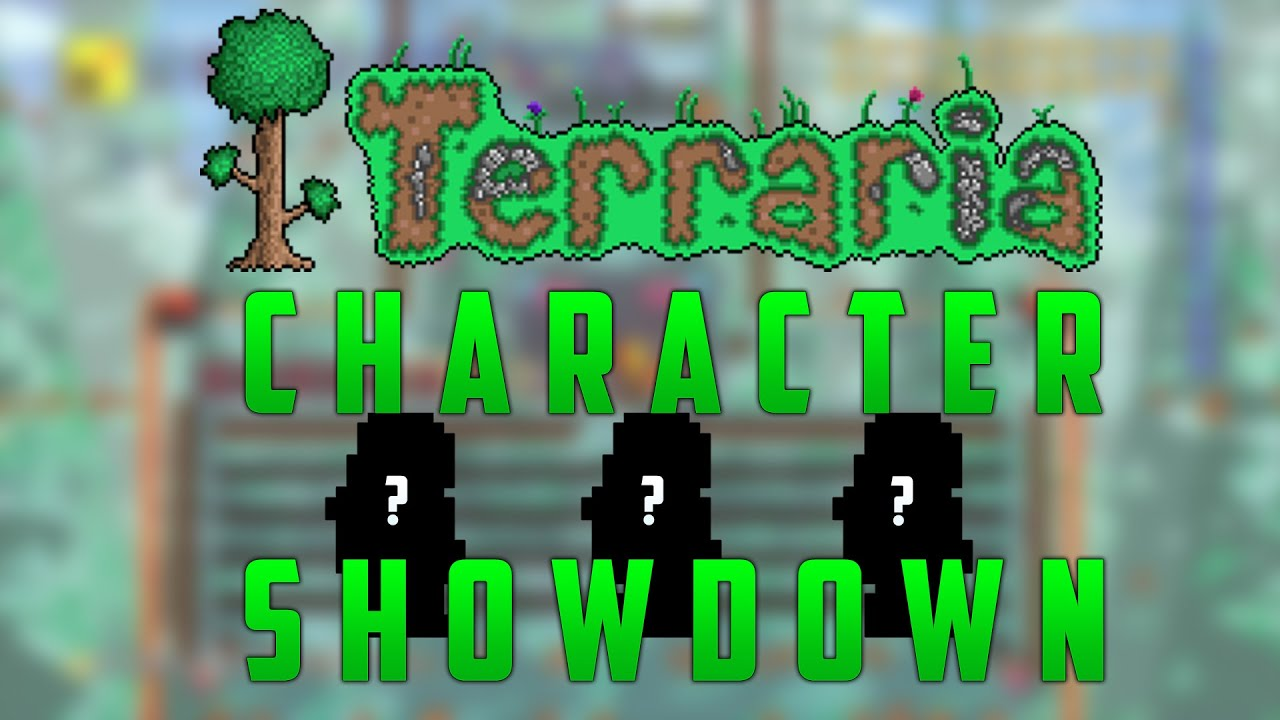 terraria how to add character