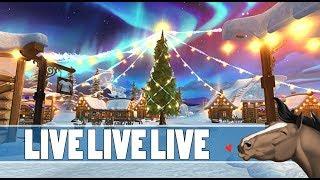 ???? LIVE || ŚWIĄTECZNA WIOSKA W STAR STABLE || serwer Cookie Valley - Na żywo