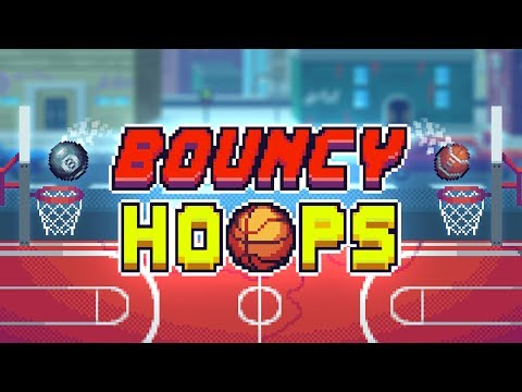 BOUNCY HOOPS - iOS / ANDROID GAMEPLAY