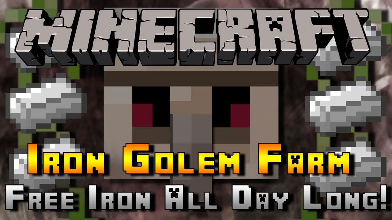 Minecraft :: Iron Golem Farm :: Xbox, Playstation + PC