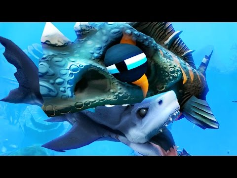 GIANT LEVEL 50 RAPTOR - Feed and Grow Fish - Part 3 | Pungence