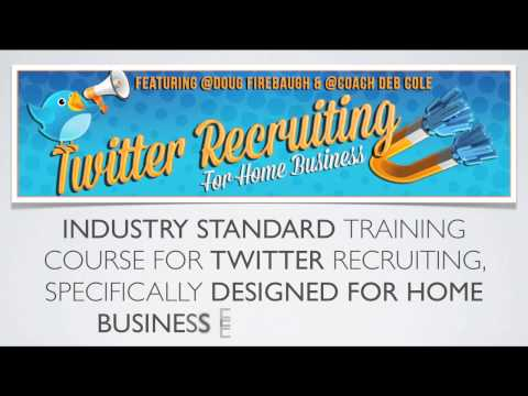 Twitter Recruiting - MLM Home Business Recruiting Training