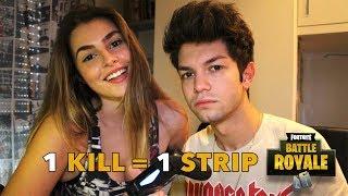 1 KILL = 1 STRIP | FORTNITE CHALLENGE