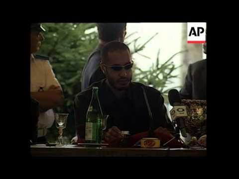 Libyan leader