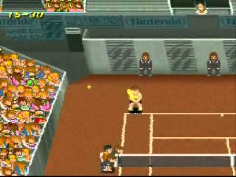 SNESOT Super Tennis Online Tour - Cesar vs Juan - Bogota Final 2013 Highlights ASTP-Challenger
