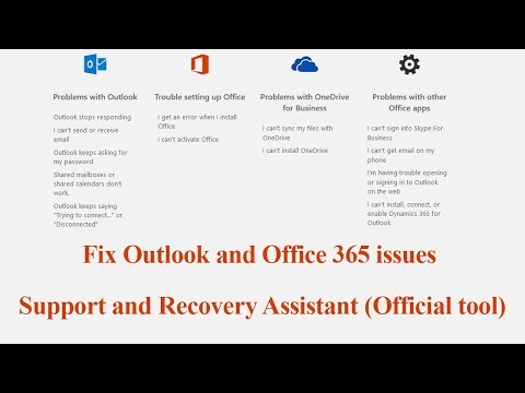 How to Fix Outlook and Office 365 Problems ( Microsoft Official Tool