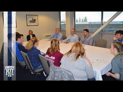 WBA Board Members meet the Junior Assembly