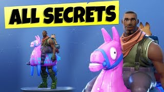 NEW Fortnite Season 6 - ALL SECRET FEATURES