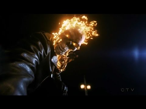Ghost Rider Origin (Johnny Blaze resurrects Robbie Reyes) - Marvel's Agents of S.H.I.E.L.D.