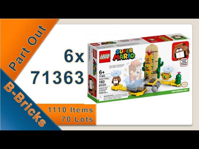 Part Out Party, Lego 71363 ausgepartet für meinen Bricklink-Store