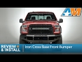 2015-2017 Ford F-150 Iron Cross Base Front Bumper Review & Install