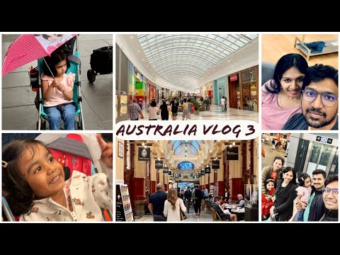 #Vlog | Australia 3 | Pacific Werribee Shopping Center Busy Downtown streets | Telugu Vlogs from USA