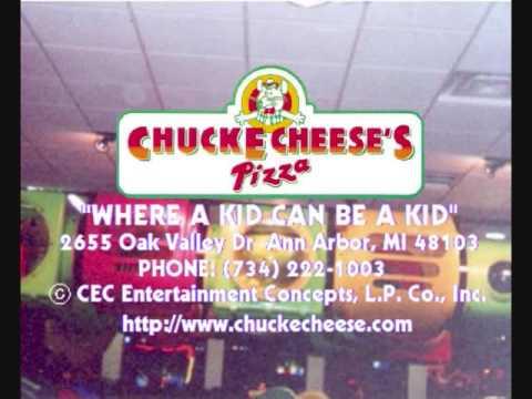 Chuck E. Cheese's Pizza Ann Arbor, MI Advertisement