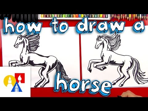 How To Draw A Realistic Horse (Part 1)