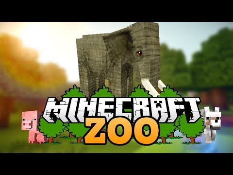 elefanten juhu wie baut man einen zoo in minecraft. Black Bedroom Furniture Sets. Home Design Ideas