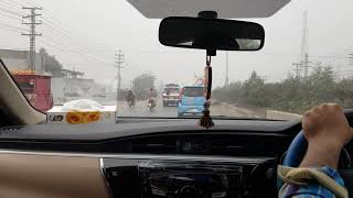 Day time drive in Pakistan || 2017