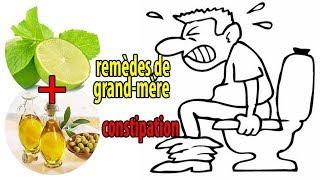 remèdes de grand-mère, efficace contre la constipation - conseils