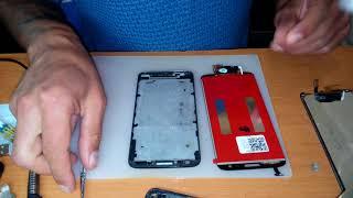Розбирання і заміна модуля LG G2 D802
