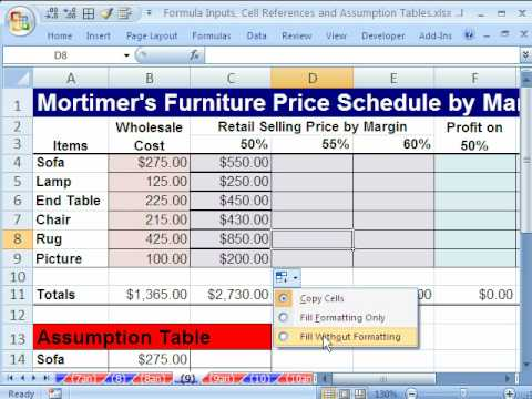 Excel Cell References  Examples Formulas Conditional Formatting
