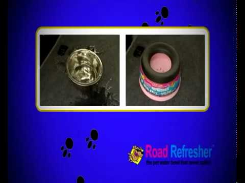 Road Refresher Non-Spill Pet Water Bowl