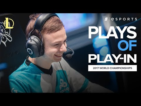 The BEST plays of the Play-In Stage: Featuring Jensen, Caps and Condi (2017 World Championship)