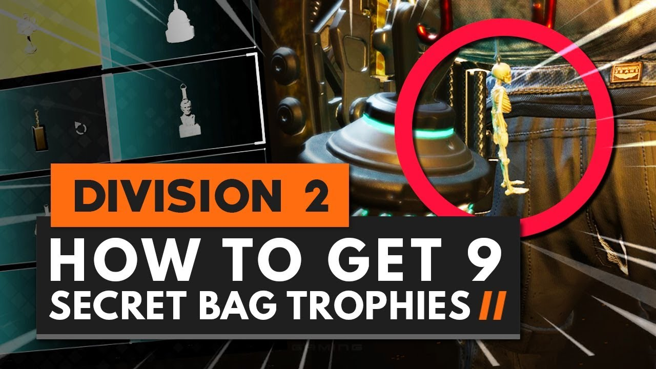 How to get every Backpack Keychain Trophy in The Division 2 - VG247