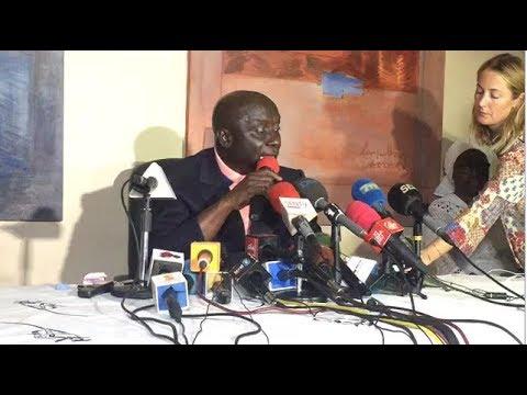 L'Intégralité du Point de Presse d'Idrissa Seck Après Son Arrestation (Parrainage-)