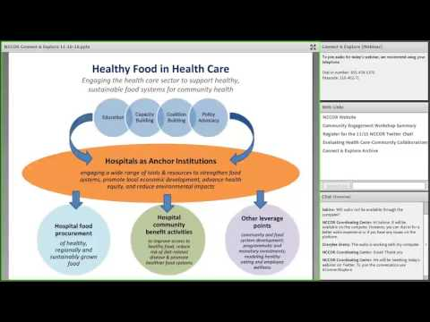 Connect & Explore: Evaluating Health Care-Community Collaborations -  Recommendations For the Field