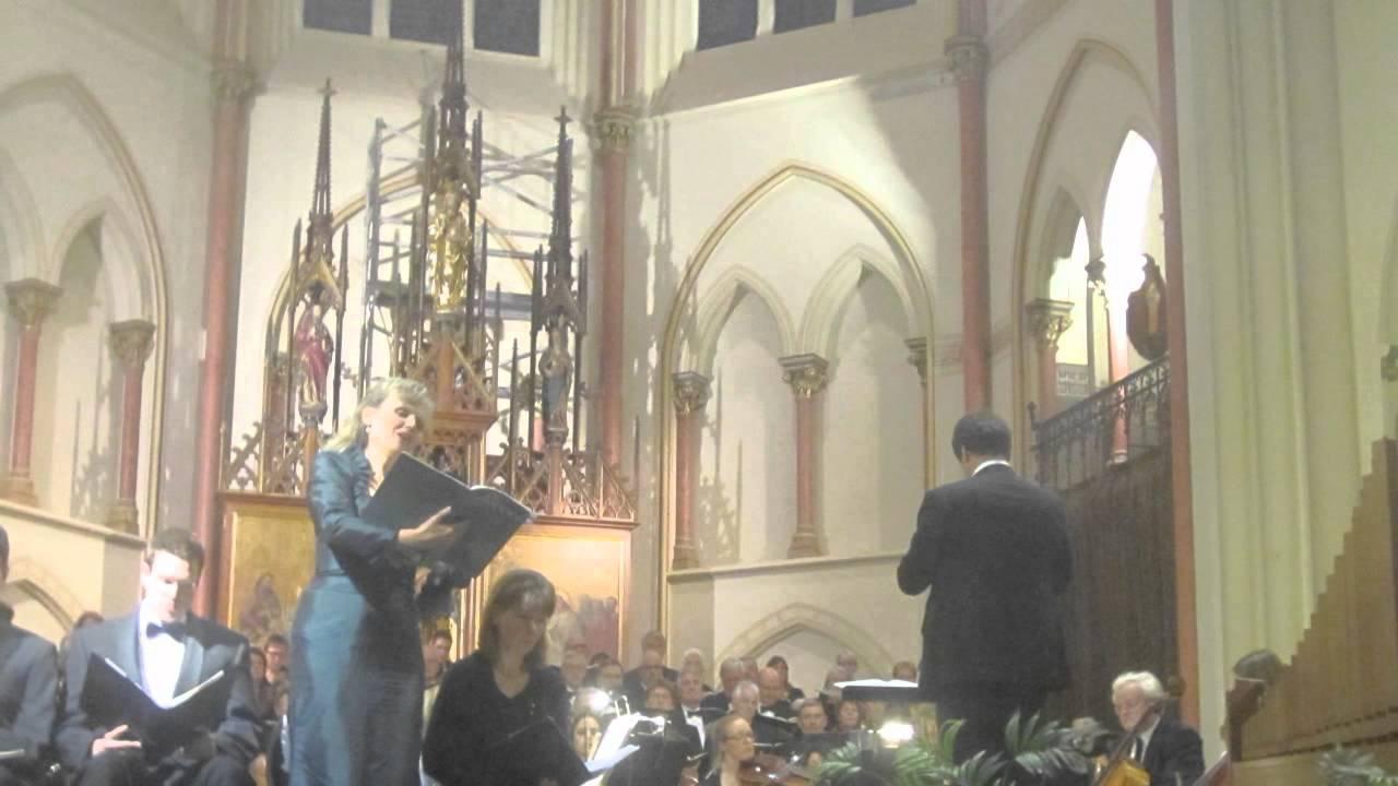 Bach, J.S. Weihnachtsoratorium BWV 248 Cantate I - Concertkoor Rijswijk 9 december 2011