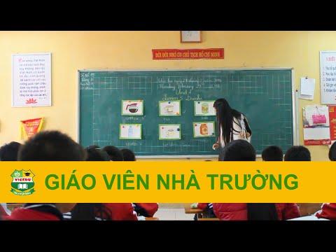 Tiết học từ vựng - Cô Nhung - Tiểu học Mễ Trì