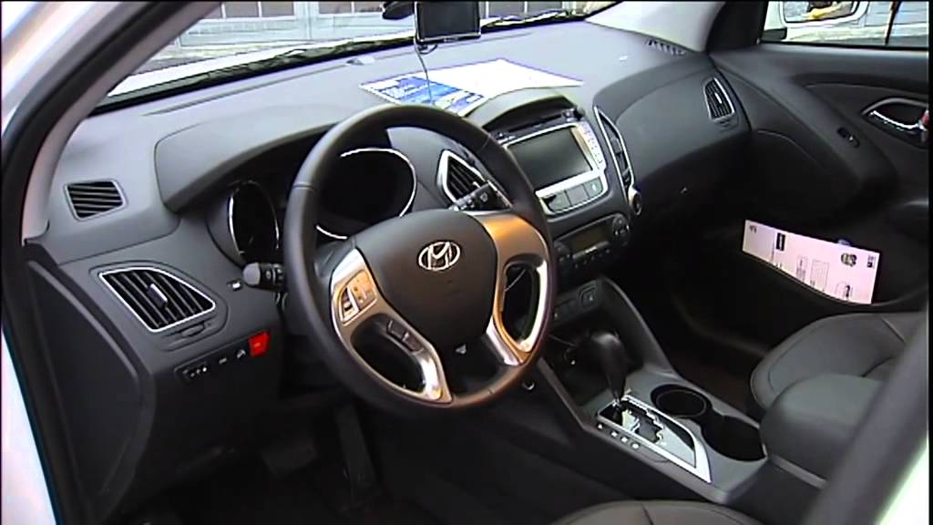 Hyundai ix35 FCEV - INTERIOR - YouTube