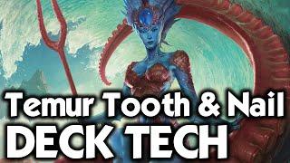 MTG Modern: Temur Tooth & Nail Deck Tech