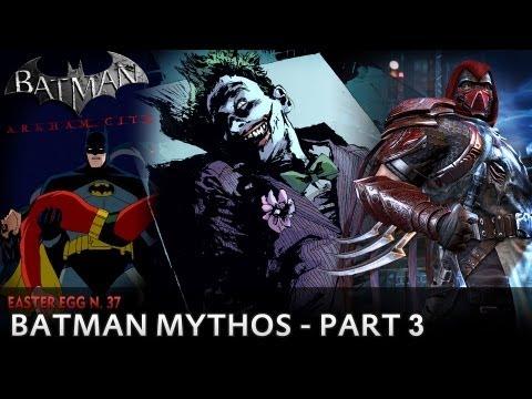 Batman: Arkham City - Easter Egg #37 -...