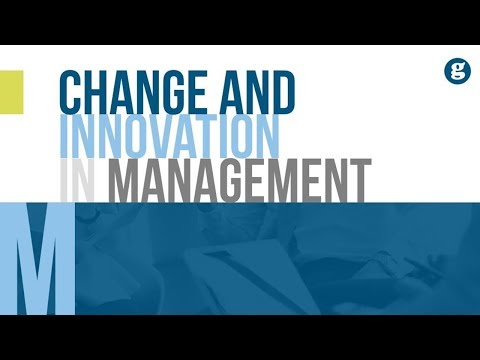Change And Innovation In Management
