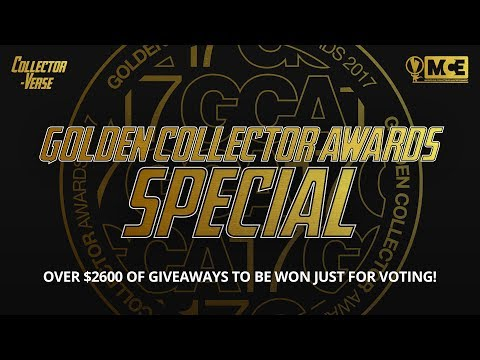 Golden Collector Awards 2017 - OVER $2600 OF GIVEAWAYS TO BE WON!!