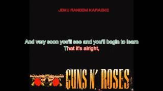 Guns N' Roses - It's Alright [Karaoke]