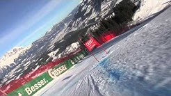 Un cut version of Hahnenkamm Kitzbuhel Downhill 2013