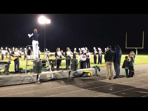 Hedgesville High School Marching Band Hampshire 2018