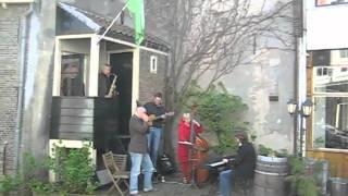 Tinus Koorn trio jam at Tick in Delft
