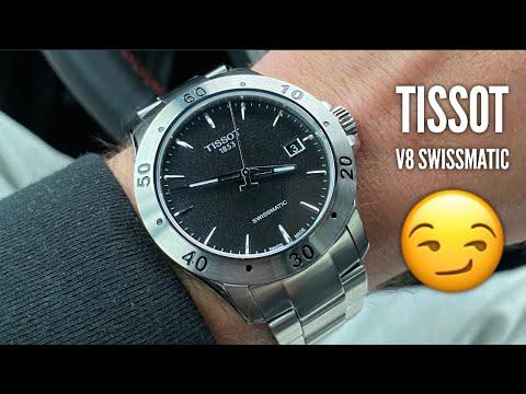 TISSOT V8 Swissmatic Watch Review - A Decent Entry Level Swiss Watch?