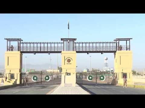 Pakistan Gate Innoguration at Pak Iran Border.