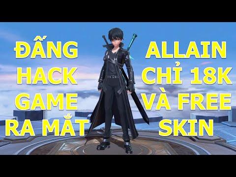 Đấng hack game Kirito ra mắt cùng tướng mới ALLAIN chỉ 18k vàng và miễn phí skin Allain