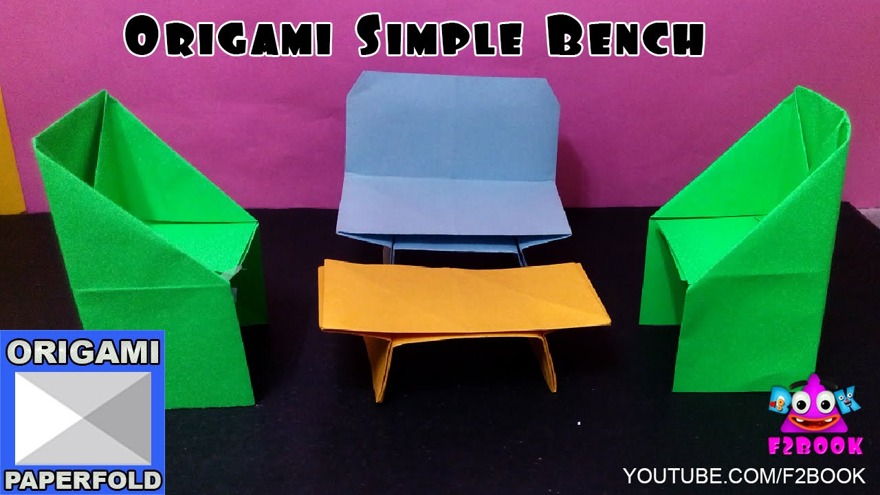 Origami how to make a table how to make paper folding for Net making instructions